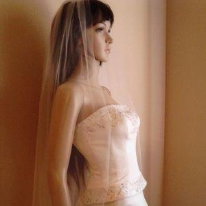 Sheer veil